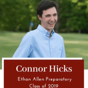 Connor Hicks - EAP Alum